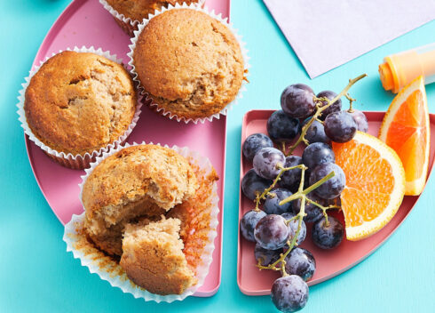 KGF's Muffins and Fruits